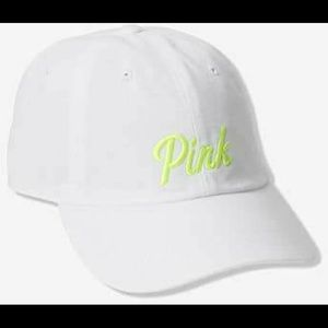 VS PINK Triumph White Baseball Hat Cap